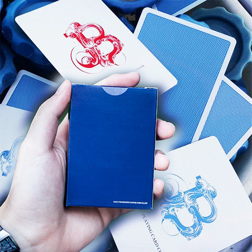 *Steel Playing Cards - Blue Limited Edition