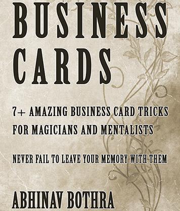 Business Cards-Abhinav Bothra Mixed Media
