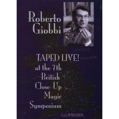 Roberto Giobbi Taped Live video