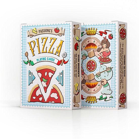 *Pizza Playing Cards