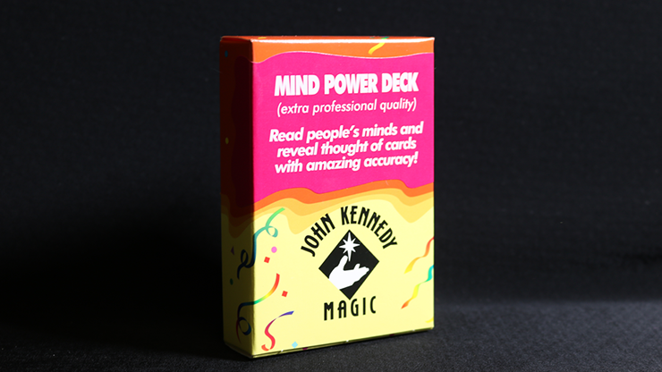 *Mind Power Deck by John Kennedy Magic