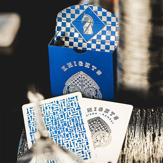 *Blue Knights Playing Cards