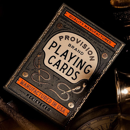 *Provision Playing Cards