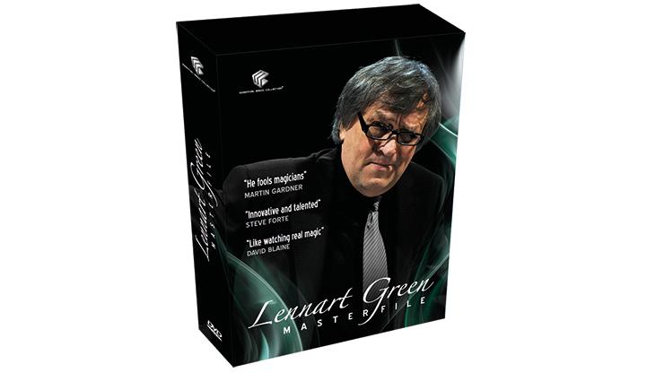 Lennart Green MASTERFILE (4 DVD Set) by Lennart Green & Luis de Matos