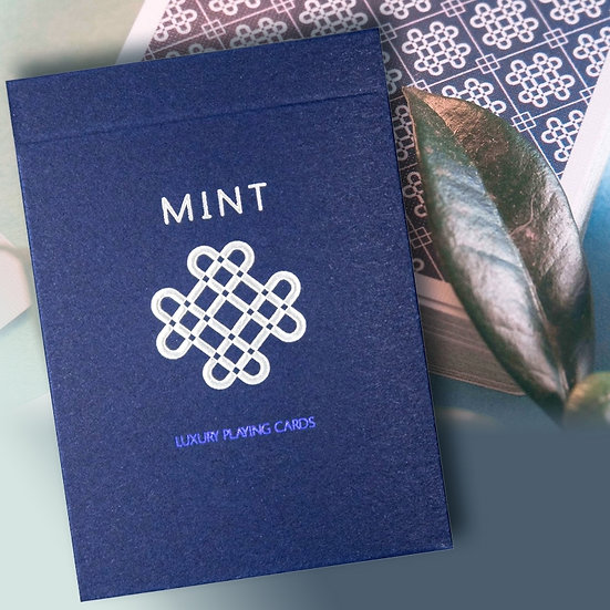 *BLUEBERRY MINT  Playing cards