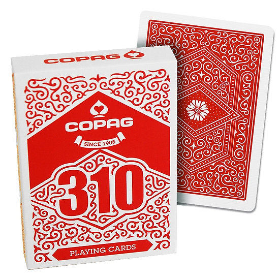*Copag 310 Playing Cards - Slim Line - Red