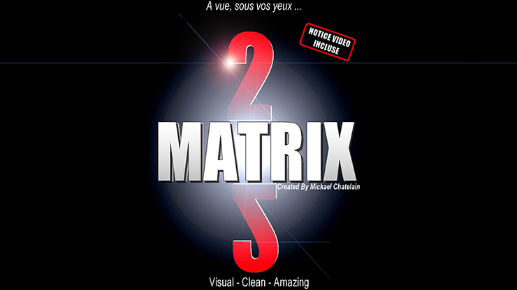 *Matrix 2.0 (Red) by Mickael Chatelain