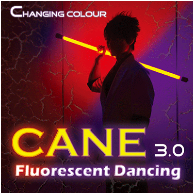 Color Changing Cane 3.0 Fluorescent Dancing by Jeff Lee