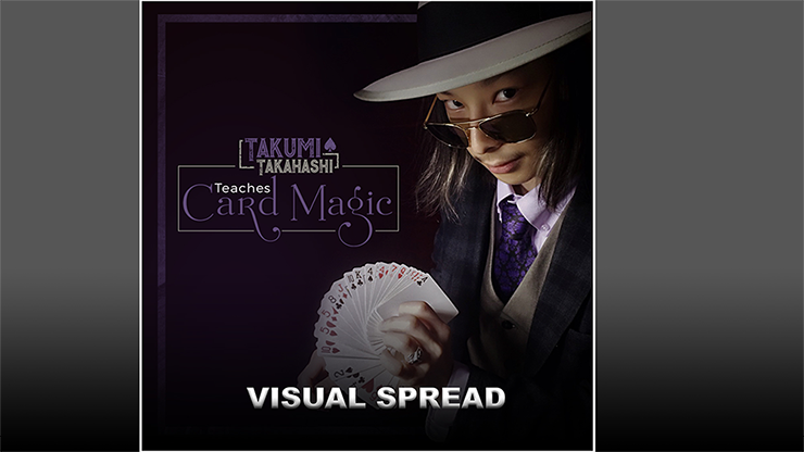 Takumi Takahashi Teaches Card Magic - Visual Spread video