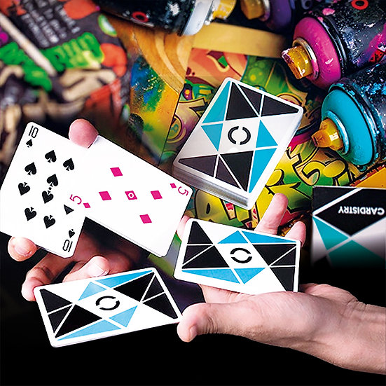 *Cardistry Playing Cards - Turquoise