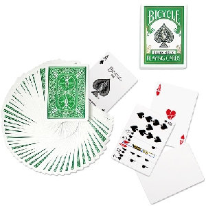 *Bicycle - Poker Deck - Green back