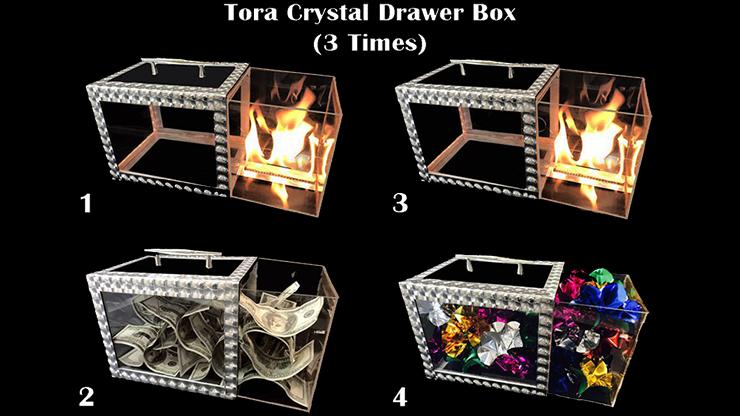 Tora Crystal Drawer Box