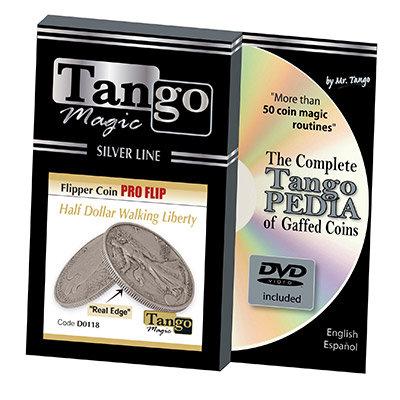Tango Silver Line Flipper Pro Flip Walking Liberty (w/DVD)(D0118) by Tango