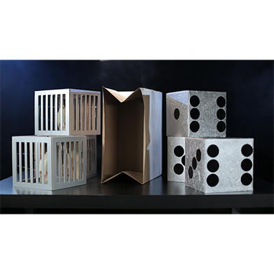 Cages & Dice from Paper Bag by Tora Magic