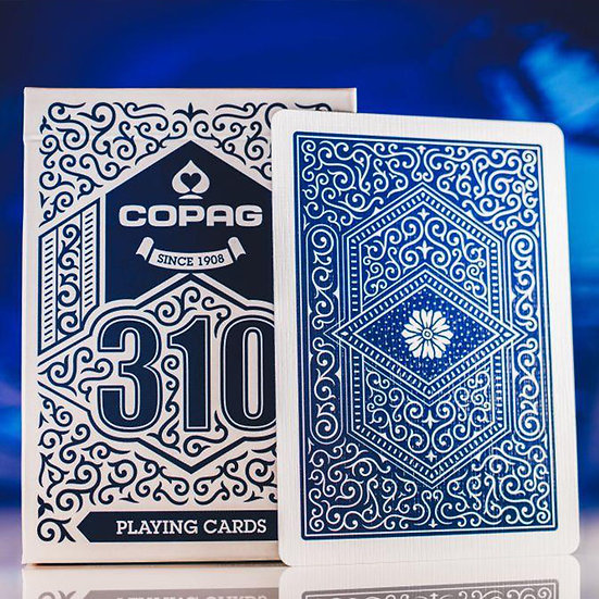 *Copag 310 Playing Cards - Standard - Blue