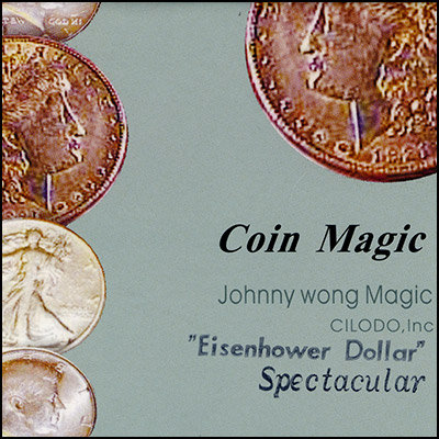 Spectacular Eisenhower Dollar by Johnny Wong