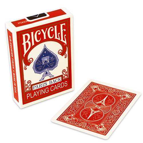 *Bicycle - Paris - Red back