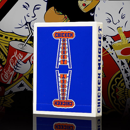 *Chicken Nugget Playing Cards - Blue