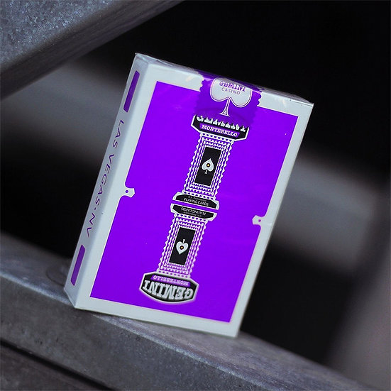 *Gemini Casino Playing Cards - Purple