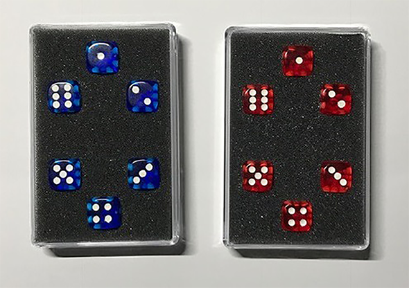 *Perfect Prediction Dice (6 Dice) by Kreis