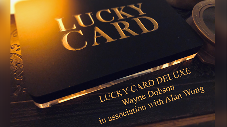 *Lucky Card Deluxe by Wayne Dobson & Alan Wong