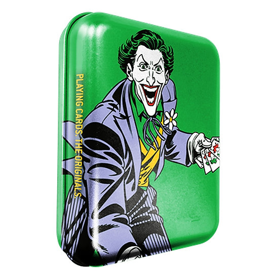 *DC Super Heroes - Joker Playing Cards - Tattoo Tin Boxes Display