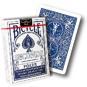 *Bicycle - Poker Deck Seconds - Blue back