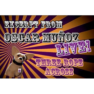 3 Rope Across -Oscar Munoz (Excerpt from Oscar Munoz Live) video