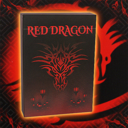*Red Dragon Playing Cards