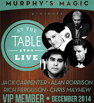 At The Table VIP Member December 2014 video