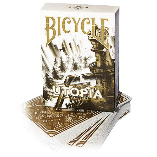 *Bicycle - Utopia - White