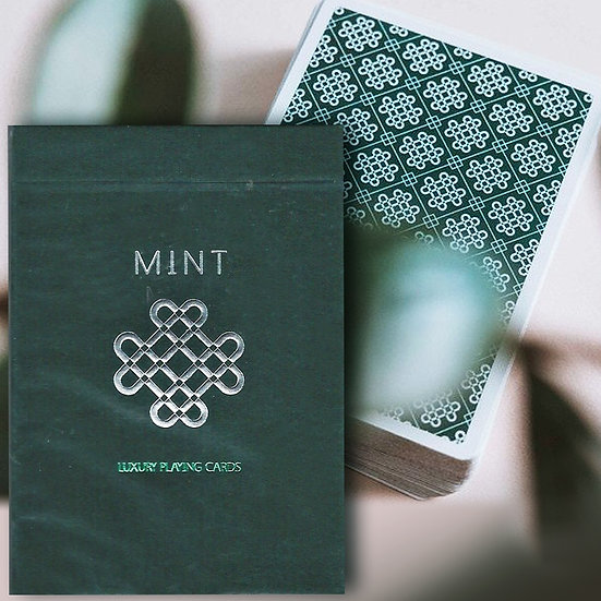 *CUCUMBER MINT Playing Cards
