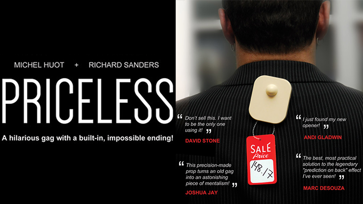 *Priceless by Michel Huot & Richard Sanders