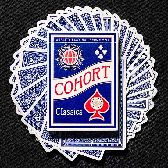 *Cohort Blue Playing Cards
