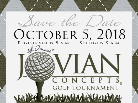 Save the Date: Jovian Concepts 4th Annual Golf Tournament