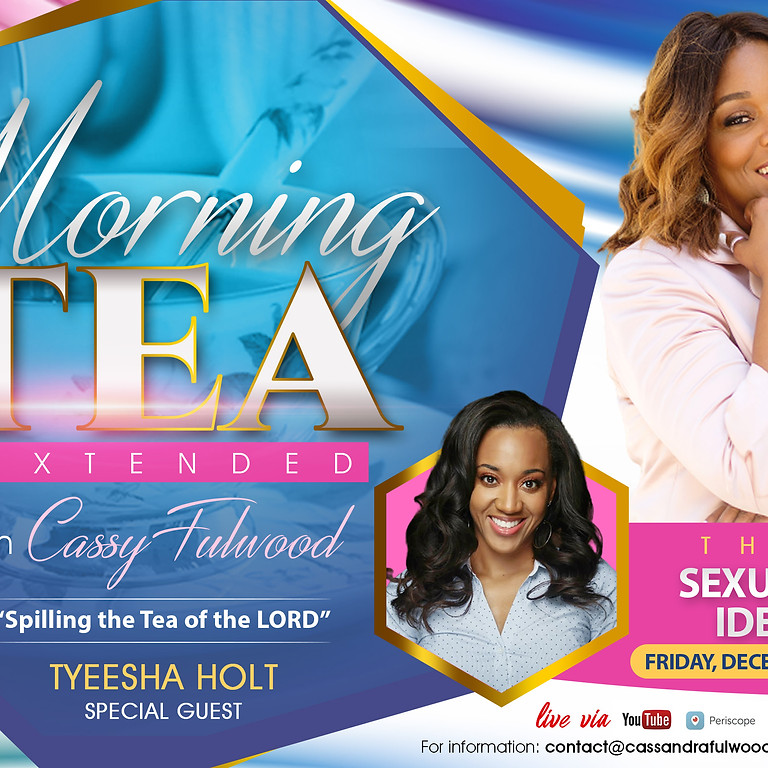Morning Tea Extended LIVE Broadcast