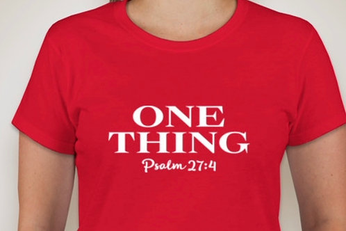 One Thing (Psalm 24:7) Teeshirt
