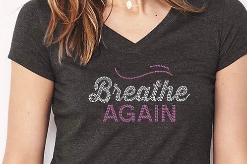 Breathe Again® BLING Teeshirt