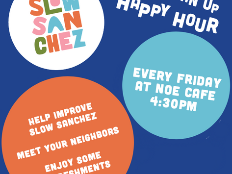 Friday Sanchez Cleanup and Happy Hour