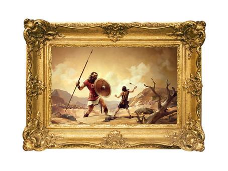 David, David en Goliath …