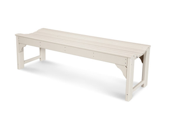 "POLYWOOD® Traditional Garden 60""Backless Bench BAB160"
