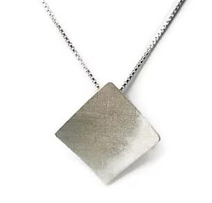 Bold Square Necklace