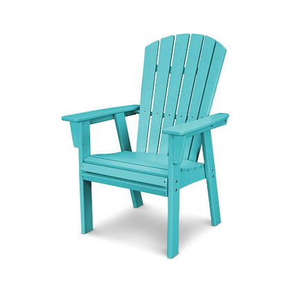 In Stock POLYWOOD® Nautical Adirondack Dining Chair ADD610 (SHIPPING UNAVAILABLE