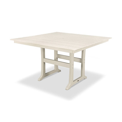 "POLYWOOD® Farmhouse 59"" Counter Table PLR85-T1L1"