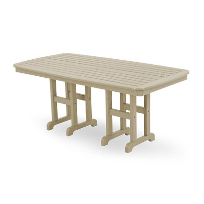"POLYWOOD® Nautical 37""x72"" Dining Table NCT3772"