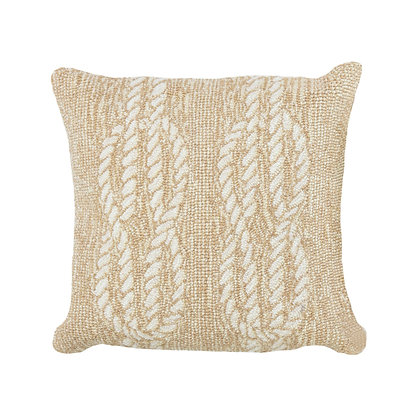"Frontporch Ropes Indoor/Outdoor Pillow 18""Square"