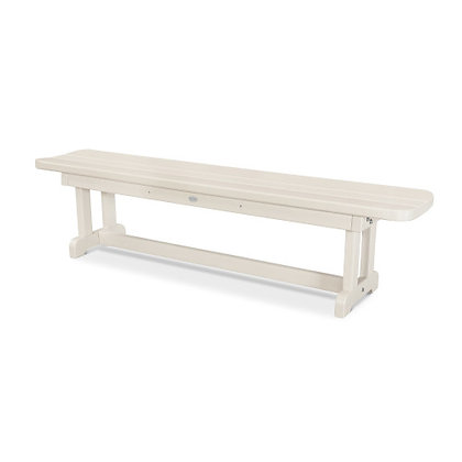 "POLYWOOD® Park 72"" Harvester Backless Bench PBB72"