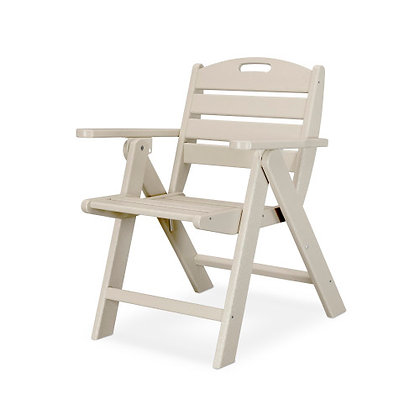 POLYWOOD® Nautical Lowback Chair NCL32