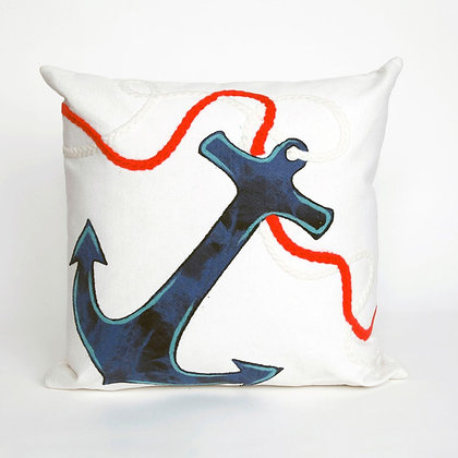 "Visions Anchor Indoor/Outdoor Pillow 20""Square"