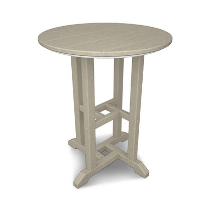 "POLYWOOD® Traditional 24"" Round Dining Table RT124"